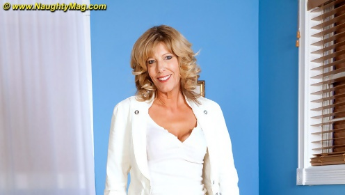 Mature divorcee shannon west rings up a latino gigolo to please her horny twat mature blonde horny