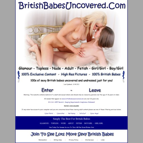 British Babes Uncovered